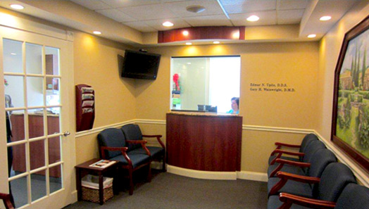 Our Dental Office Lobby